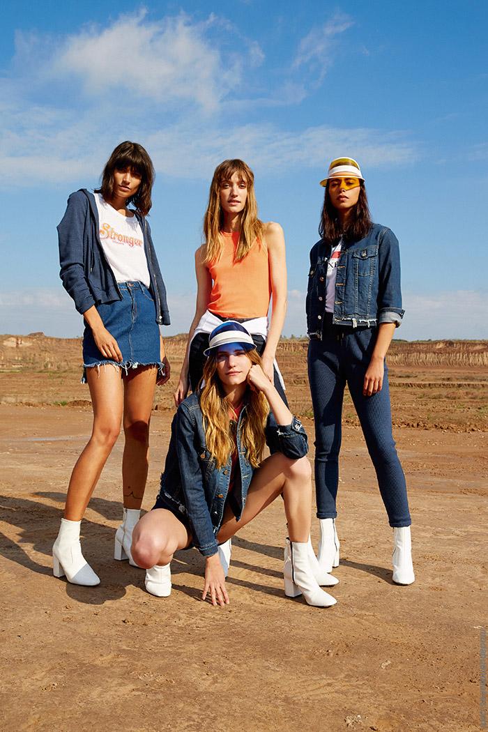 Camperas de jeans, minis y pantalones primavera verano 2020.