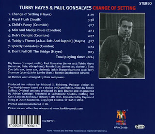 Paul Gonsalves and Tubby Hayes