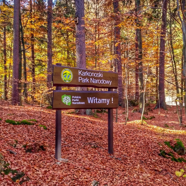 Karkonoski Park Narodowy wejście na wodospad Szklarkę