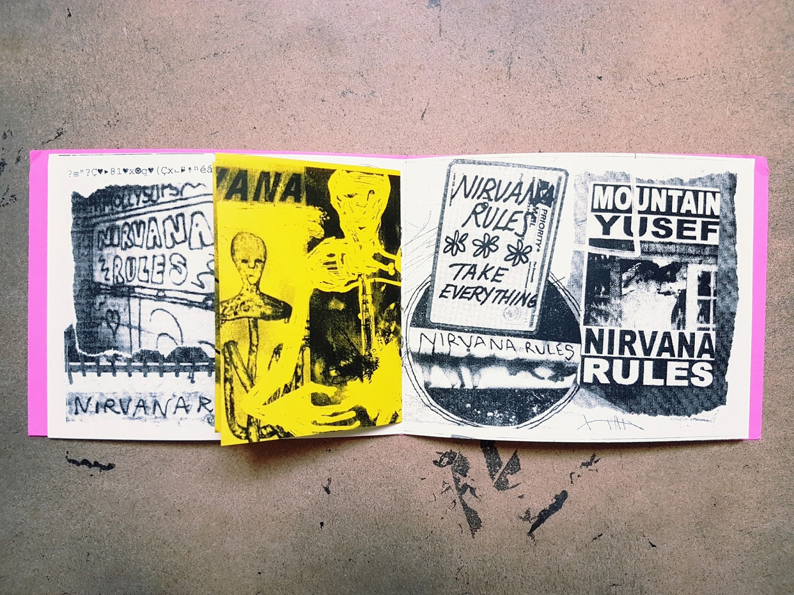 Syndicated Zine Reviews: Nirvana Rules