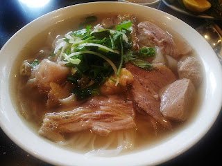 Vietnamese beef special pho
