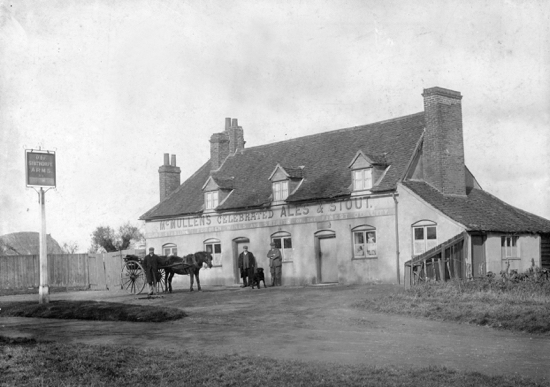 Photograph of The Sibthorpe Arms, Welham Green, c.19th century
