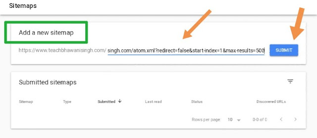 blogger me sitemap kaise submit kare, sitemap kaise banaye, sitemap google search console me kaise ad kare