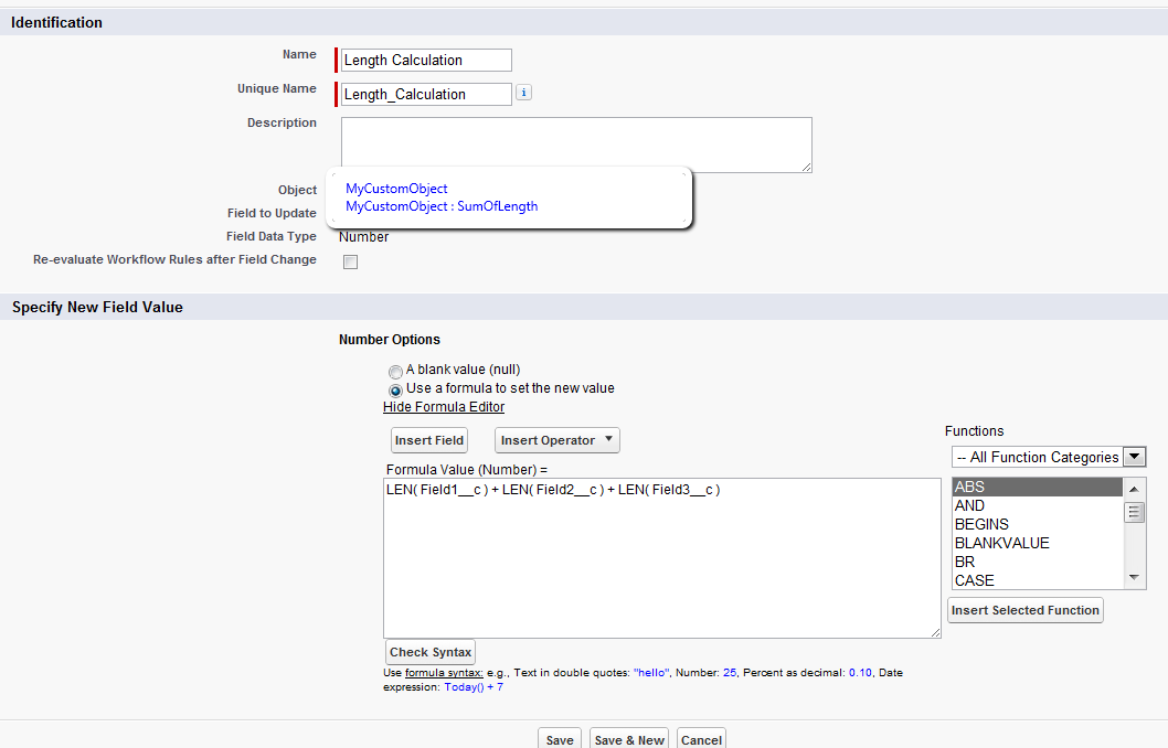 ForceTree com: How to use Salesforce Long Text Area fields