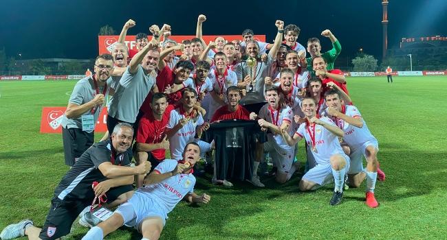 Gelişim Ligi'nde şampiyon Samsunspor