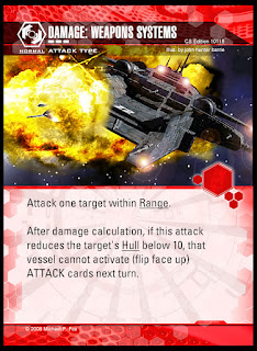 Attack type: Damage: Weapons Systems