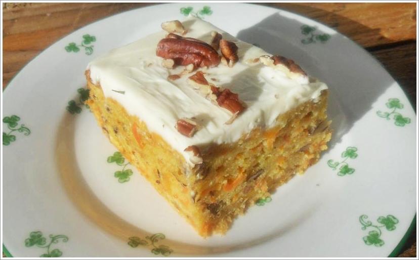 Glutenfreier Karottenkuchen Mit Frischkase Frosting