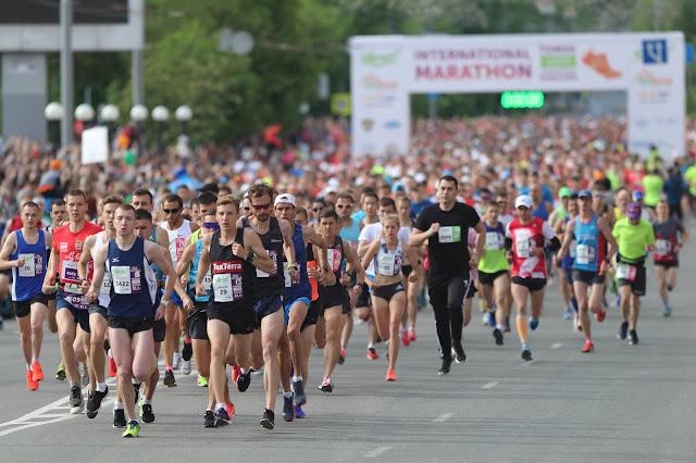 Томск марафон, томский марафон, Андрей Думчев
