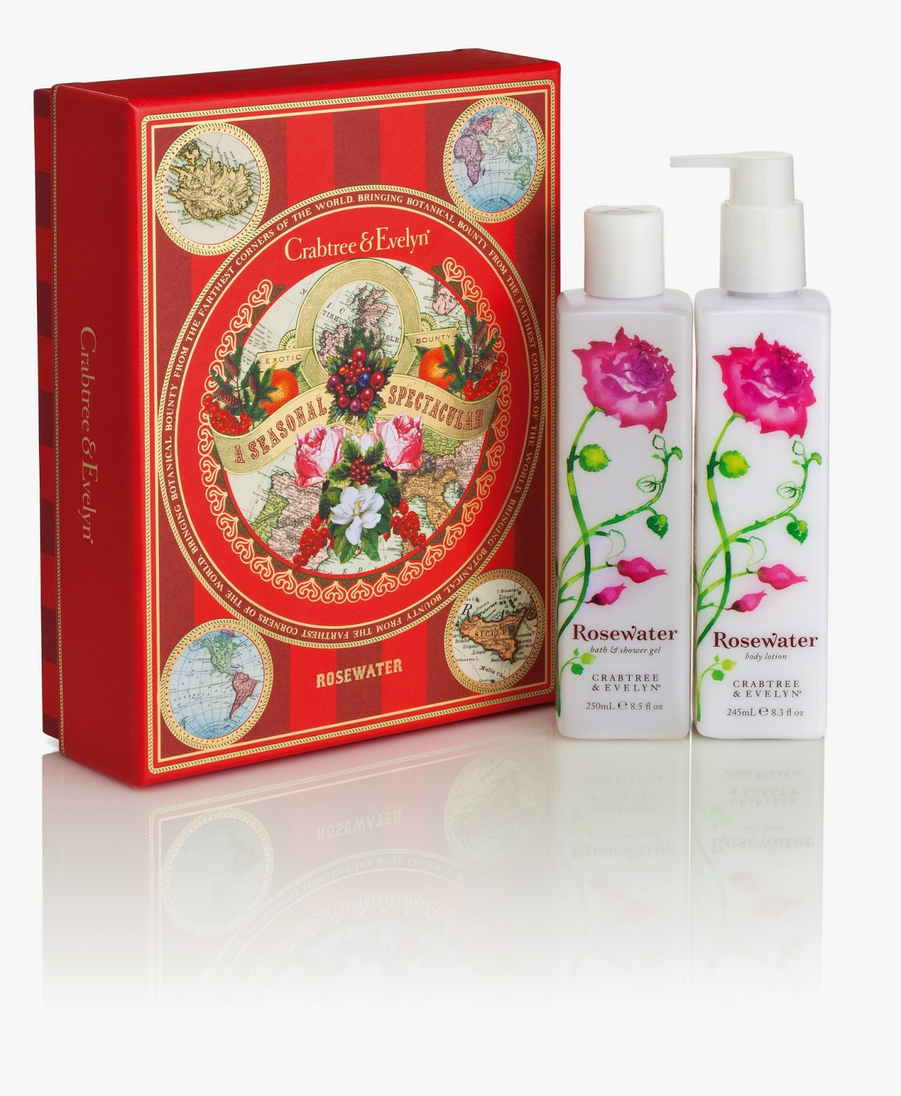 Crabtree & Evelyn Lotion and Gel Duos Set Giveaway Ends 11/19  #HolidayGiftGuide via www.productreviewmom.com
