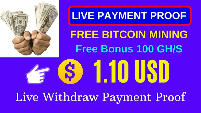 Free Bitcoin Mining Site  Live Payment Proof Earn Bitcoin from Legit Paying Site 2020