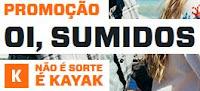 Promoção Kayak Booking.com 'Oi, Sumidos'