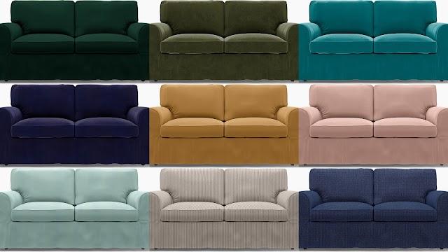 Καλύμματα για όλα τα έπιπλα ΙΚΕΑ σε δεκάδες χρώματα-σχέδια