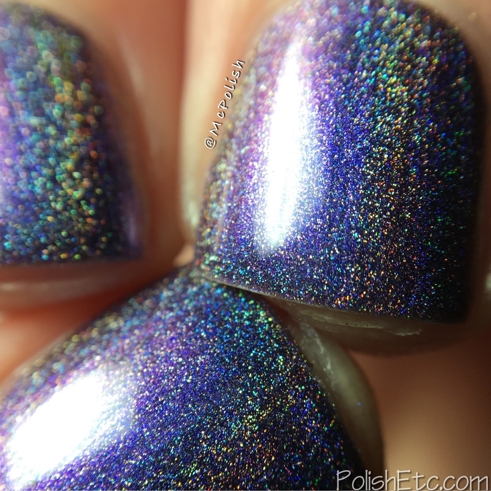 Great Lakes Lacquer - Polishing Poetic Collection - McPolish - Ease One Life the Aching