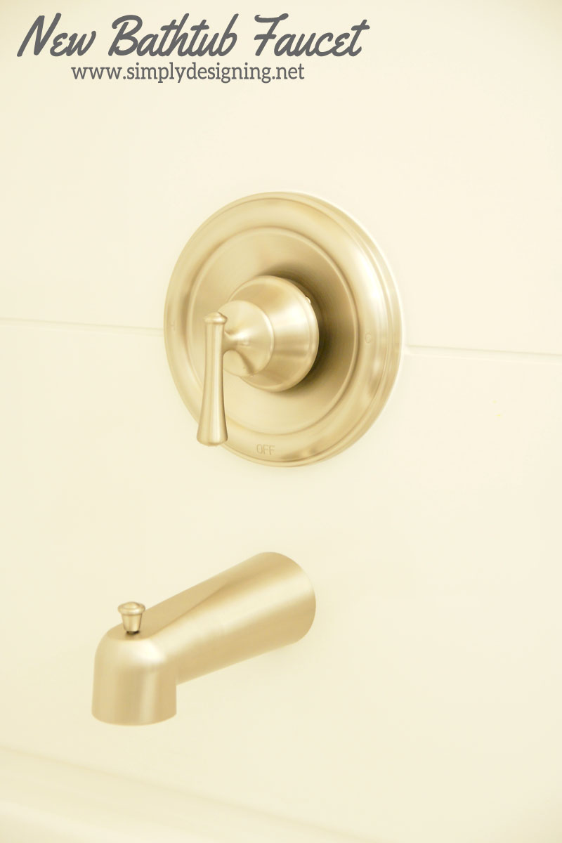 Install a New Bathtub Faucets | #diy #bathroom #bathroomremodel #remodel