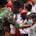 Cegah Pandemi, Prada Yugo Bagi Tips Agar Anak di Batas Negeri Mau Gunakan Masker