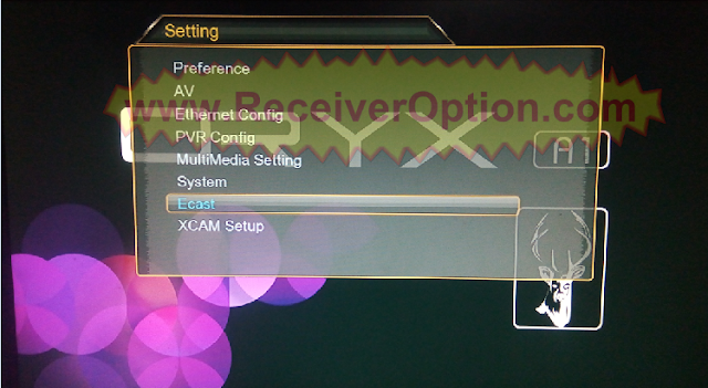 ORYX A1 1507G 1G 8M NEW SOFTWARE WITH ECAST OPTION