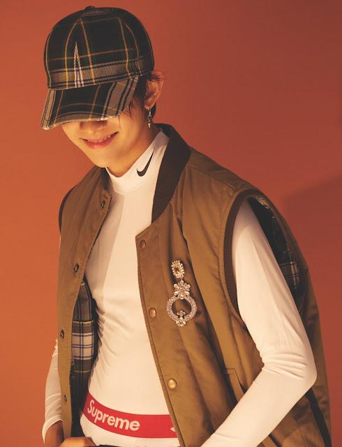 Dazed January Issue - Samuel (사무엘)