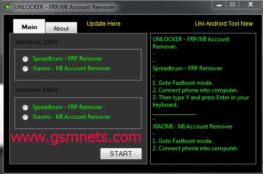 MI Account Remover FRP Unlocker Tool Download