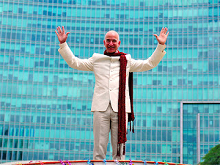 Jeff Bezos in India