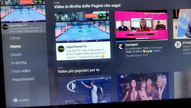 facebook watch da smart tv