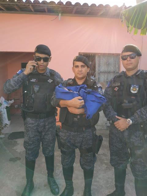 Em Maceió, Militares do RPMon ajudam gestante em trabalho de parto