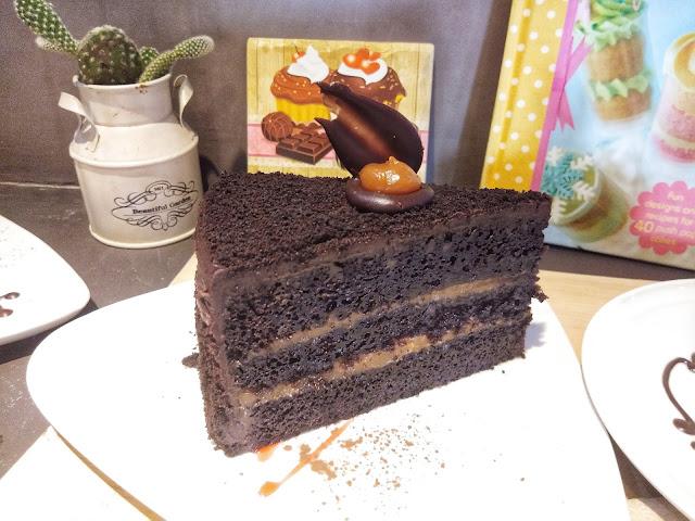 Choco Salted Caramel Cake