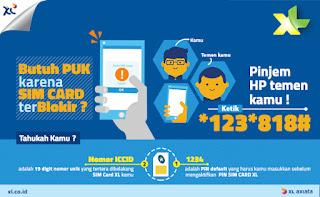 Cara Mengetahui Kode PUK Kartu sim XL yang Terblokir