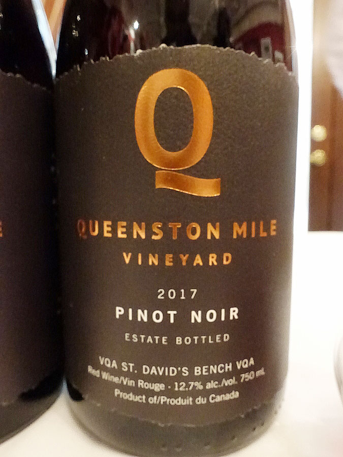 Queenston Mile Vineyard Pinot Noir 2017 (90+ pts)