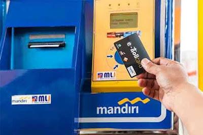 Tips menghindari denda 1 juta lebih karena kartu e-toll hilang di jalan toll.