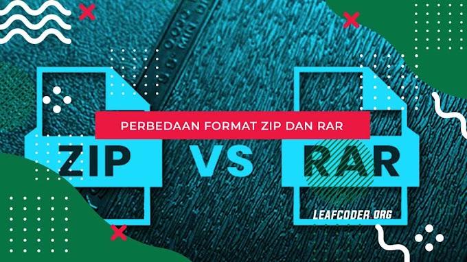 Perbedaan ZIP dan RAR yang Harus Diketahui