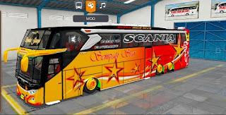 Bus JB3 full strobo ceper