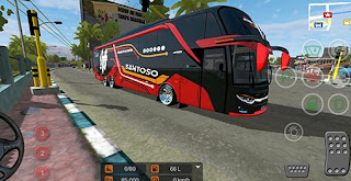Bus Ceper JB3 Santoso Terbaru velg Racing