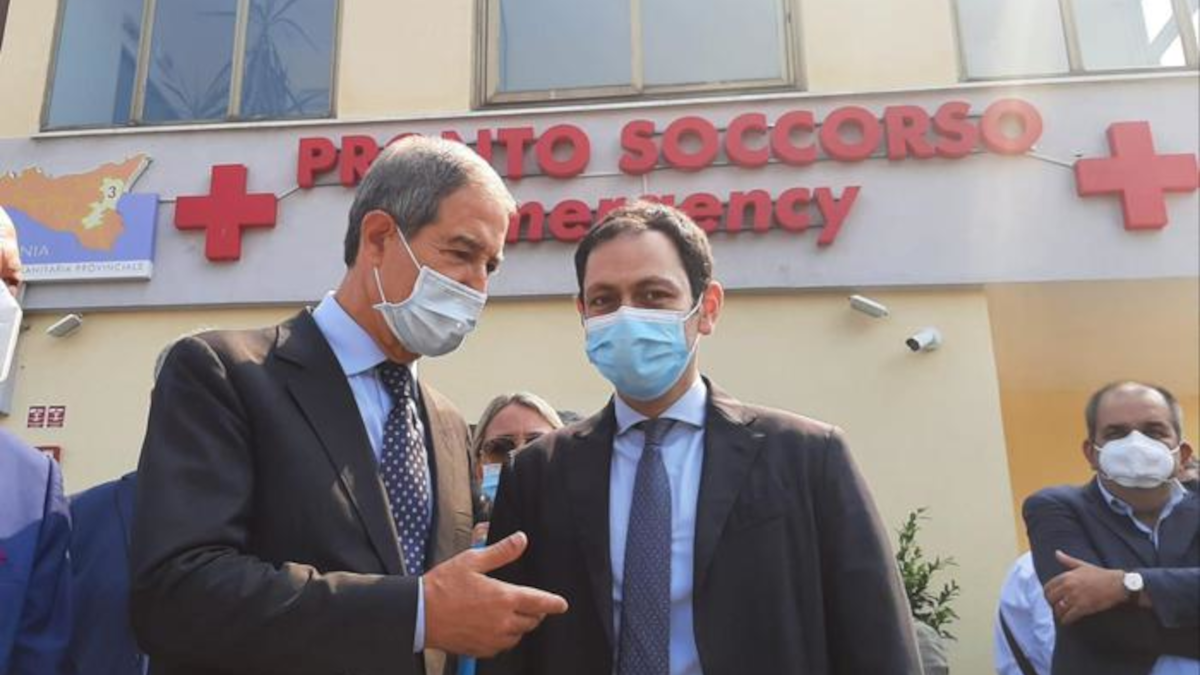 inaugurazione ospedale Giarre pronto soccorso Regione Siciliana
