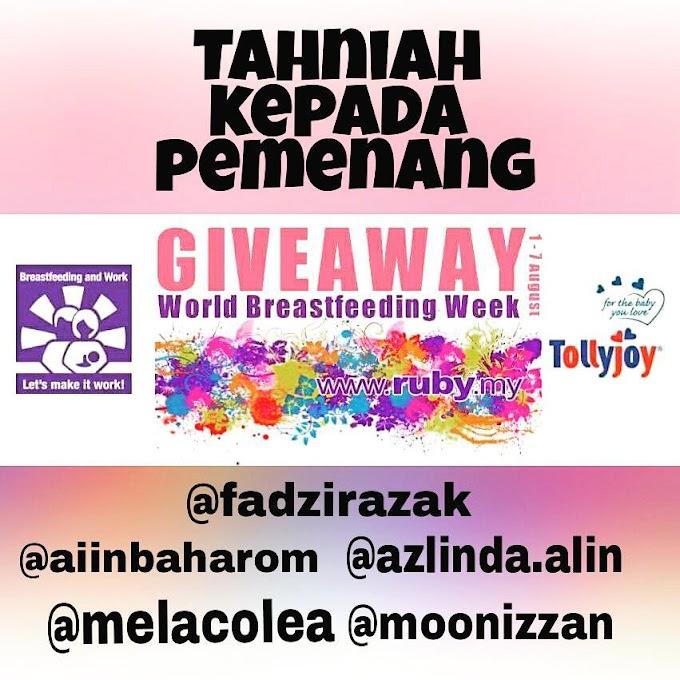Menang World Breastfeeding Week By Tollyjoy