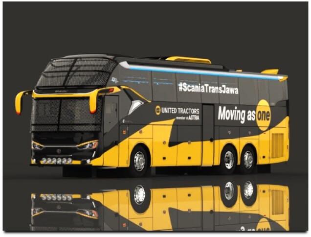 Mod Bussid SR2 XHD Sumatera