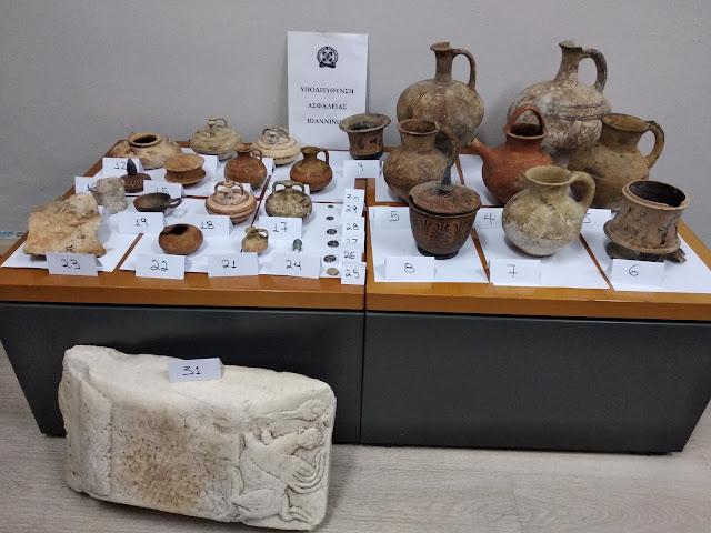 Γιάννενα: Η Επιχείρηση Της Υποδιεύθυνσης Ασφάλειας Ιωαννίνων Και Η Σύλληψη Αρχαιοκάπηλου