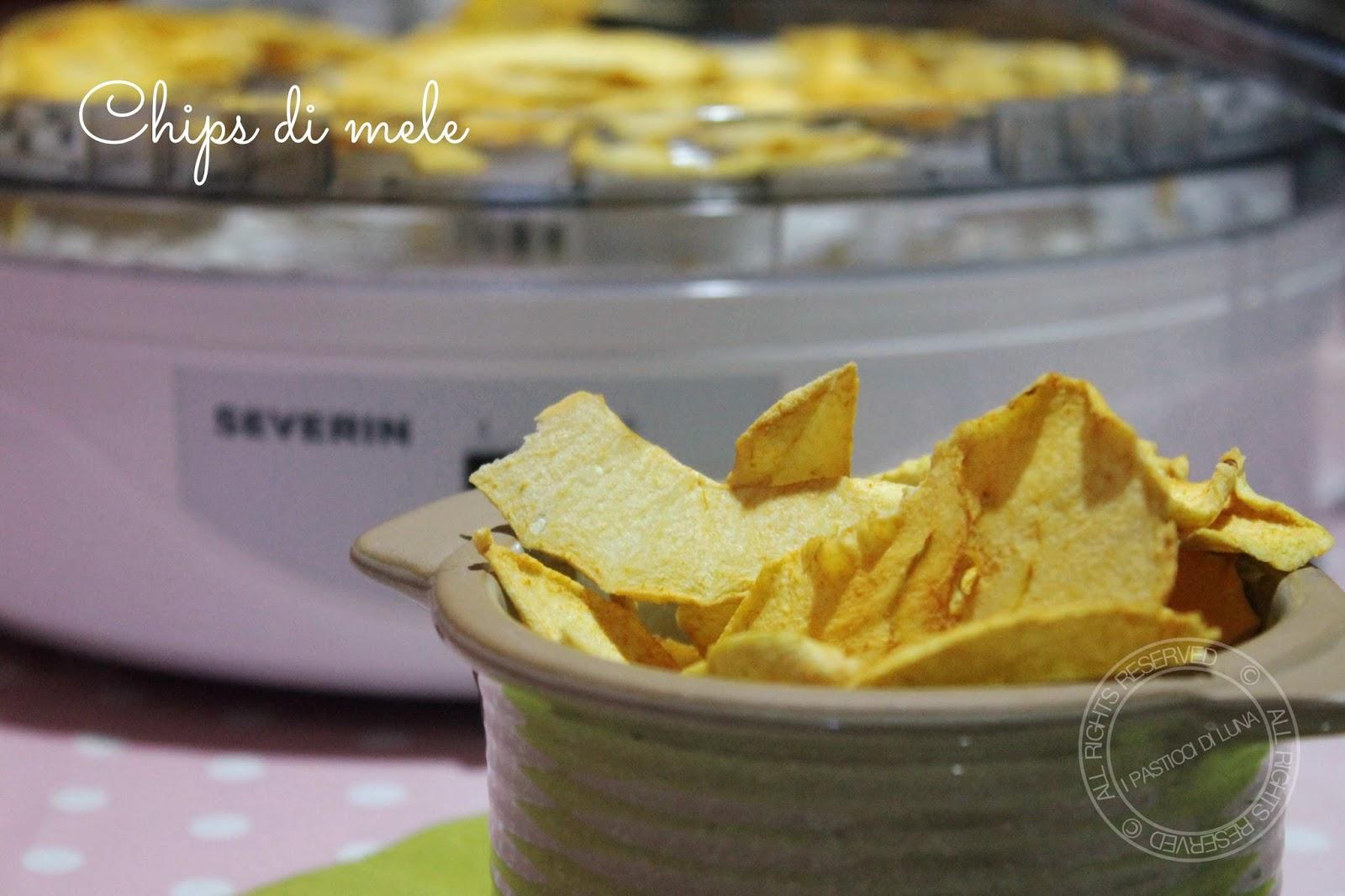 brand new b1834 9aa55 I Pasticci di Luna: Ricetta Chips di mela e recensione ...