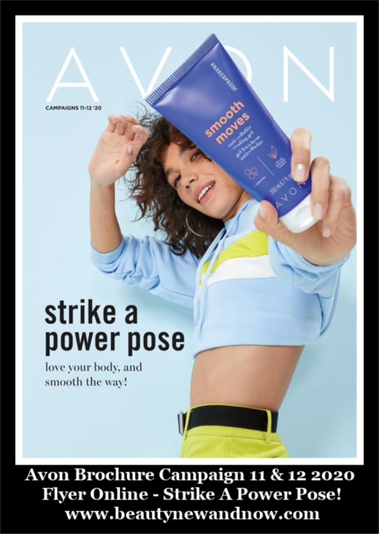 Avon Brochure Campaign 11 & 12 2020 Flyer Online - Strike A Power Pose!