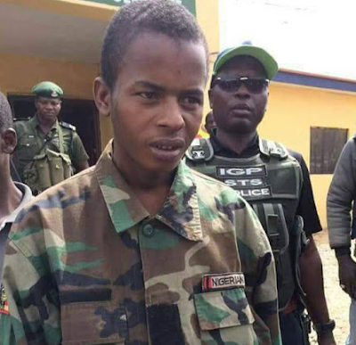 Photo: 20-year-old leader of deadly Abuja-Kaduna highway kidnap gang allegedly confesses to killing over 10 victims and drinking their blood