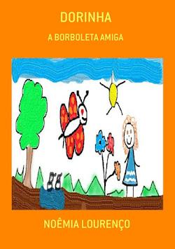 """Livro """"Dorinha, a borboleta amiga"""""""