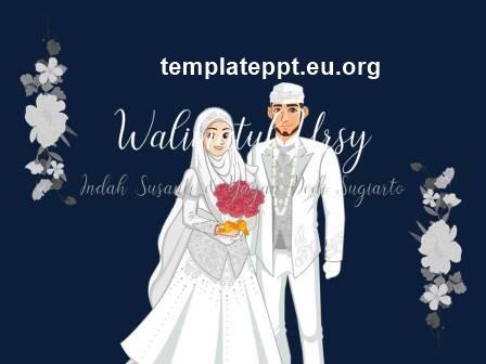 Slide 1 template power point undangan pernikahan islami gratis