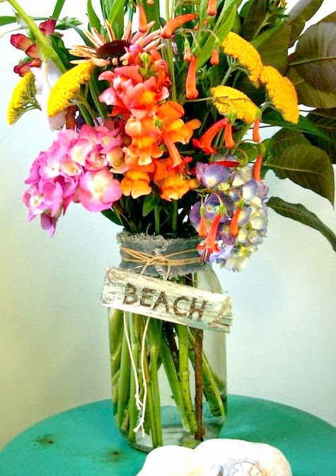 Coastal Beach Vase