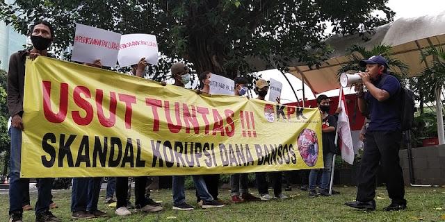 Geruduk Gedung KPK, Permadani: KPK Harus Berani Periksa 'Anak Pak Lurah'