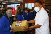 Dorong Percepatan Vaksinasi, Gubernur Pantau Vaksinasi Massal Mahasiswa