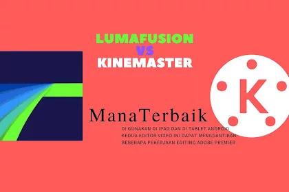Lumafusion versus kinemaster