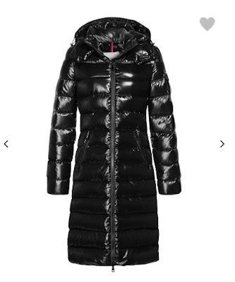świecący długi płaszcz Moncler, cena, jakość