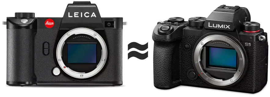 Фотоаппараты Leica и Panasonic Lumix