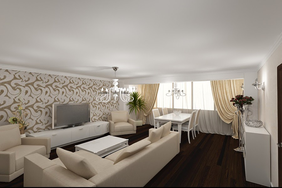 Design interior - apartamente - design - interior -living - apartament -slobozia