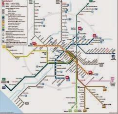 informasi daftar rute bus dari kota-kota di Indonesia