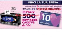 Logo Caddy's Vinci la tua spesa: 500 Gift Card da 10€